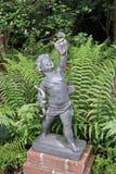 丘比特雕象 库存图片