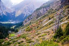 丙氨酸Kol地区柯尔克孜自然 免版税库存照片