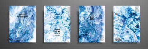丙烯酸漆混合物  液体大理石纹理 可变的艺术 可适用为设计盖子,介绍,邀请 免版税图库摄影