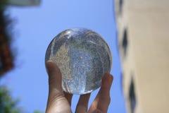 丙烯酸酯球的接触点玩杂耍 图库摄影