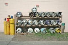 丙烷 库存图片