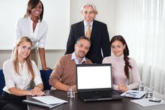 业务会议办公室人工作 库存图片