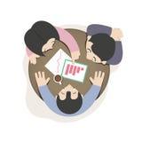 业务会议和计划 库存图片