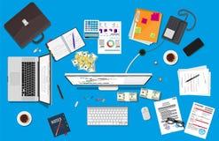 业务会议和配合 免版税库存图片