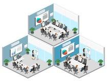 业务会议在办公室企业颁奖大会在办公室 库存照片