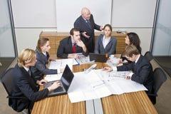 业务会议小组 库存图片