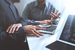 业务会议小组 工作新的s的照片职业投资者 库存图片