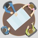 业务会议小组 免版税图库摄影