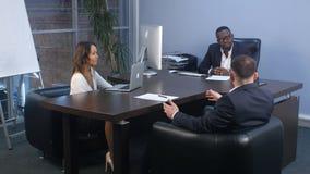 业务会议现代办公室 免版税库存照片
