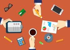 业务会议的概念 免版税库存照片
