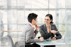 业务会议 免版税图库摄影