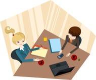 业务会议 库存照片