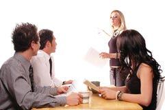 业务会议 免版税库存图片