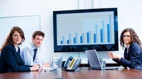 业务会议 免版税库存照片