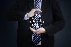 业务保险概念1 免版税图库摄影