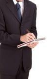业务单据人签字 图库摄影