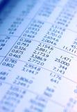 业务单据 免版税库存图片