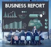 业务报告逻辑分析方法市场报告概念 库存照片
