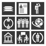 业务管理集合 免版税图库摄影