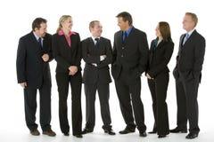 业务组人身分 免版税图库摄影