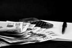 业务计算 免版税库存照片