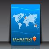 业务设计传单 免版税库存照片