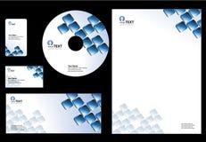 业务设计模板 免版税库存照片