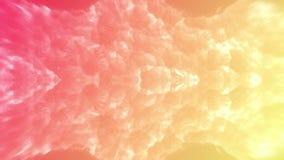 业务设计的现代梯度 在淡色五颜六色的渐进性的抽象彩虹背景 圈动画 向量例证