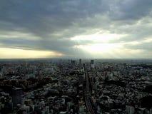 东京上面  图库摄影