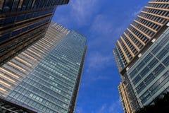 东京中间地区大厦在六本木地区,东京日本 免版税库存图片