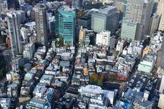 东京中间地区 库存图片