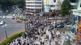 东京人 免版税图库摄影