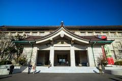 东京国立博物馆在东京,日本 免版税库存照片