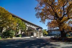 东京国立博物馆,最旧和最大的博物馆在日本 免版税库存照片