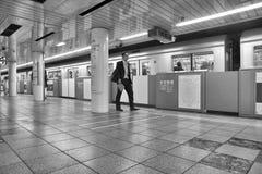 东京地下铁 库存图片