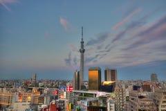 东京地平线 免版税库存图片