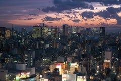 东京地平线 库存图片