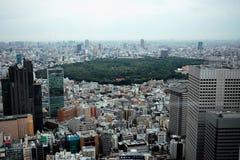 东京城市scape  库存照片