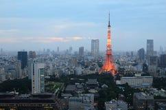 东京塔 库存照片