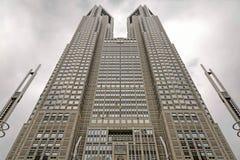 东京大城市政府大厦在新宿病区,日本里 免版税库存照片