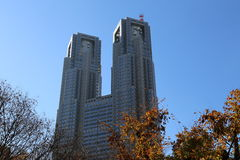 东京大城市政府大厦 库存图片
