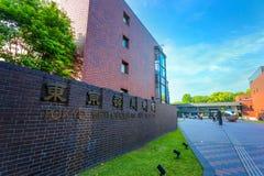 东京大城市美术馆在东京,日本 免版税库存照片