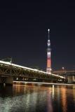 东京天空结构树 免版税库存照片