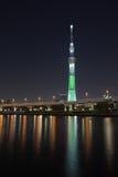 东京天空结构树 免版税图库摄影