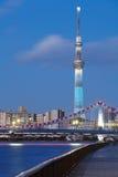 东京天空结构树 免版税库存图片