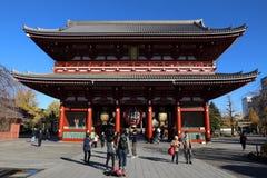 东京寺庙,日本 库存照片
