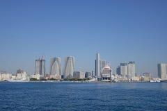 东京市摩天大楼 免版税库存图片