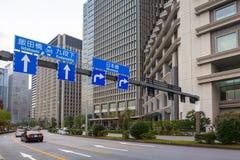 东京市街道  库存照片