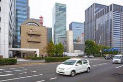 东京市街道  免版税库存照片