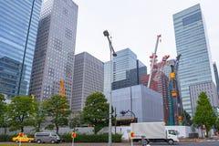 东京市街道  免版税库存图片